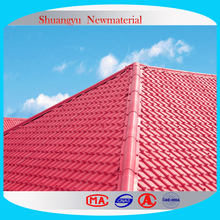 Three layers High Quality Colored UPVC Roofing Sheet/Top quality building material/UPVC APVC plastic roofing tile