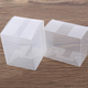 Clear plastic crafts PET PVC PP folding soap case business card custom made clear transparent small plastic packaging box