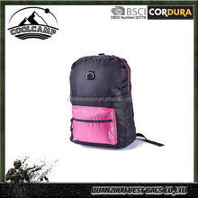 Foldable Travel Backpack, Light Weight Sports Rucksack and Shopping Bag