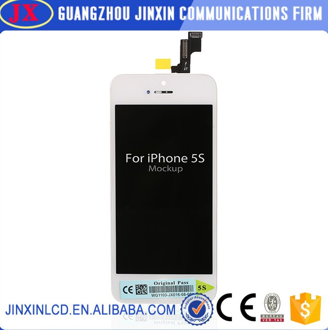 [Jinxin]Brand New Qaulity Oem 100% LCD Screen for iPhone 5S Apple Original