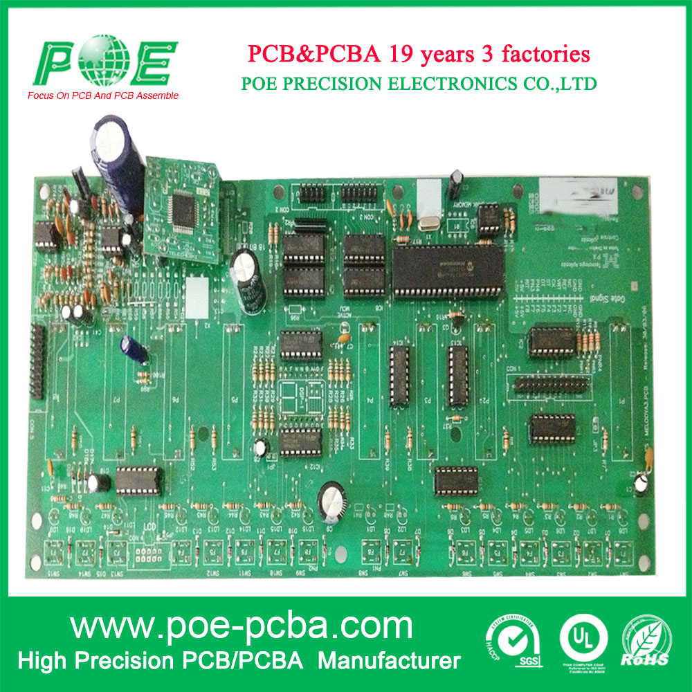 High precision PCBA board controller circuit board assembly