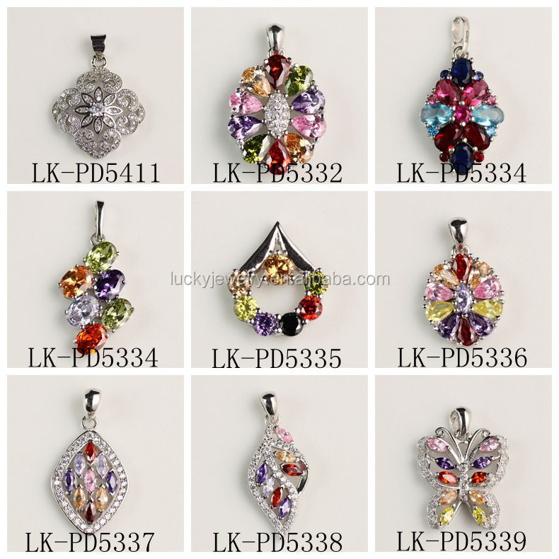 New Arrival Stone Pendant Charms Natural Stone Pendant Gem Stone Pendant For Women Christmas