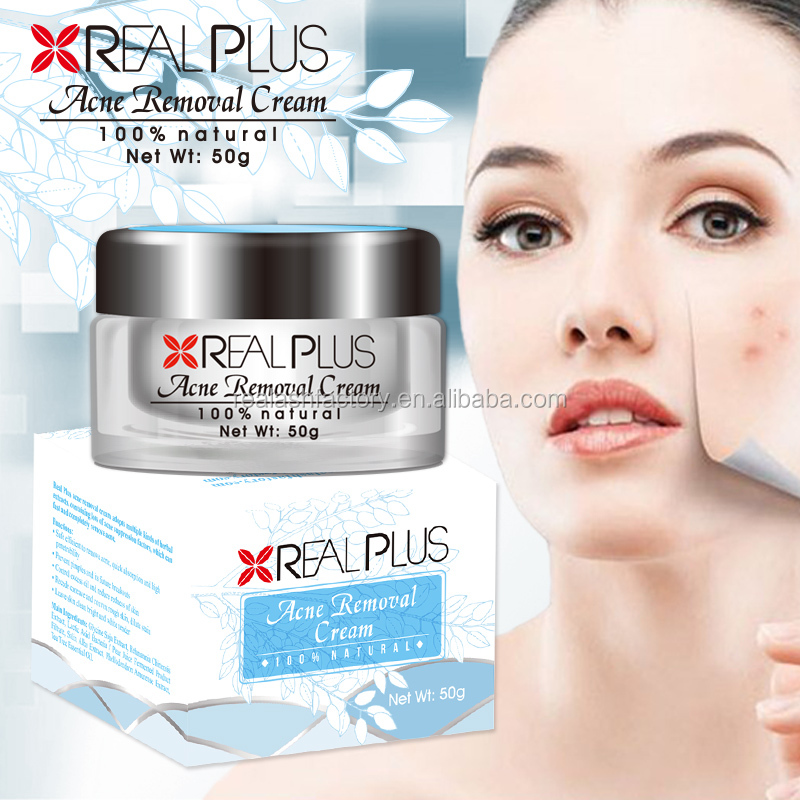 Face skin care anti pimples natural essence acne free cream