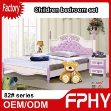 GanZhou FPHY Manufactuer 82 Series Bedroom Set Classic Design low floor beds