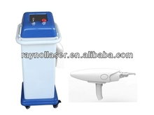 2014 most cheapest q switch ND YAG Laser Tattoo Removal with two Laser Tips 1064nm&532nm