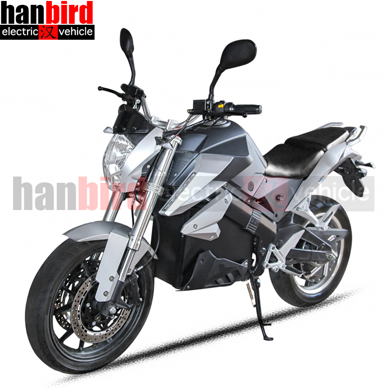 Hanbird New Product Electric Racing Motorcycle with Lithium Battery