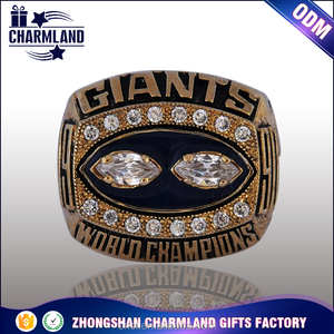 Wholesale sports men's gift championship rings custom logo and designs rings of champion