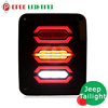 Jeep led accessories running turn brake reverse rear tail light