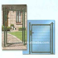 wrought iron arch grill garden gate