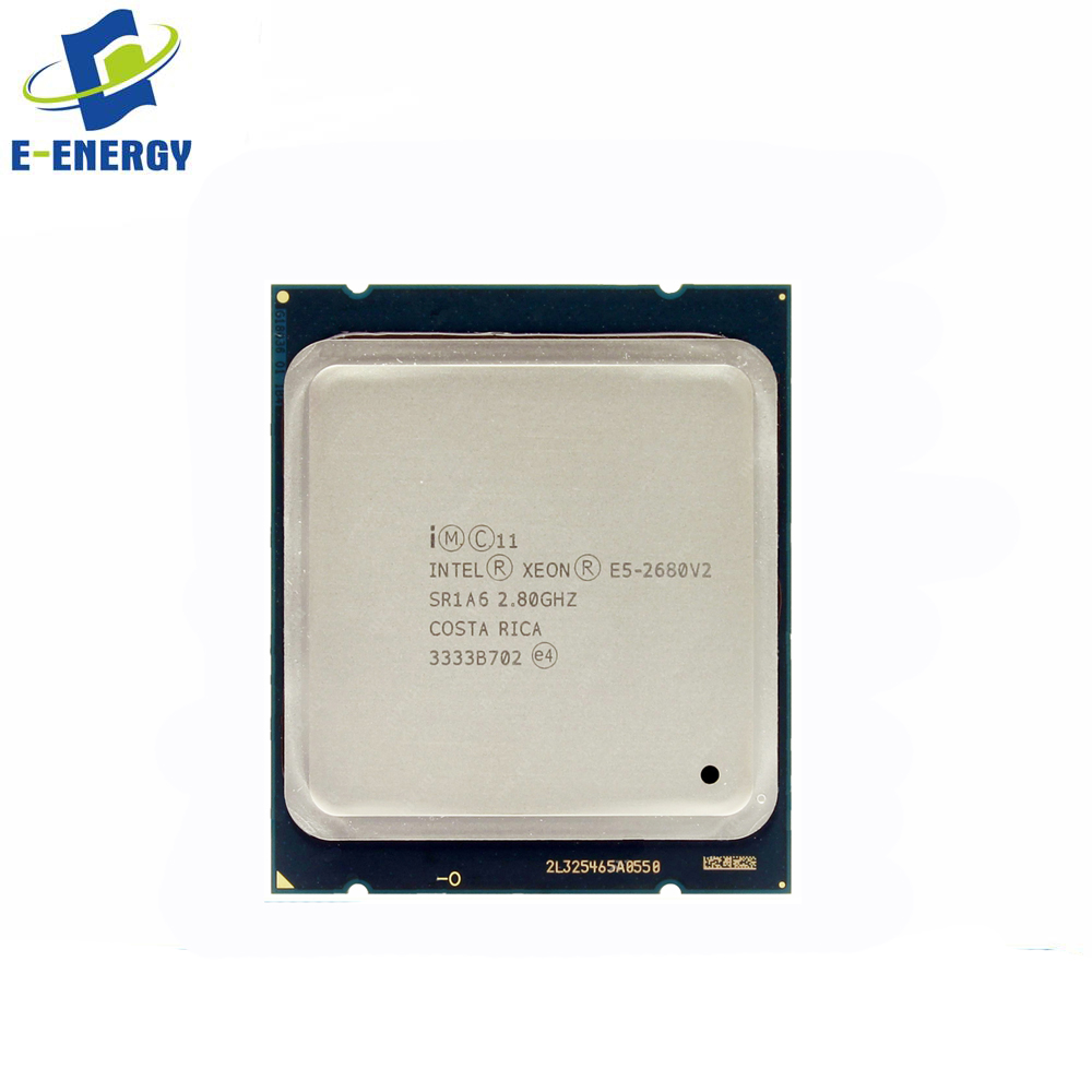 E5-2680V2 Ten-Core Processor 2.8GHz 8.0GT/s 25MB LGA 2011 Server CPU