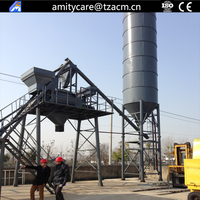mobile ready mixed cement concrete batching plant