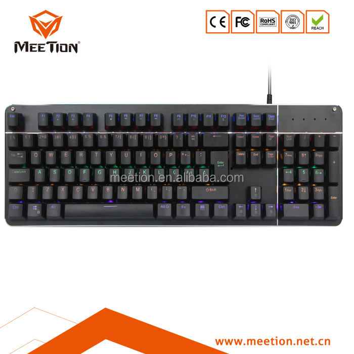 Latest USB Wired Gaming Keyboard RGB Mechanical Keyboard