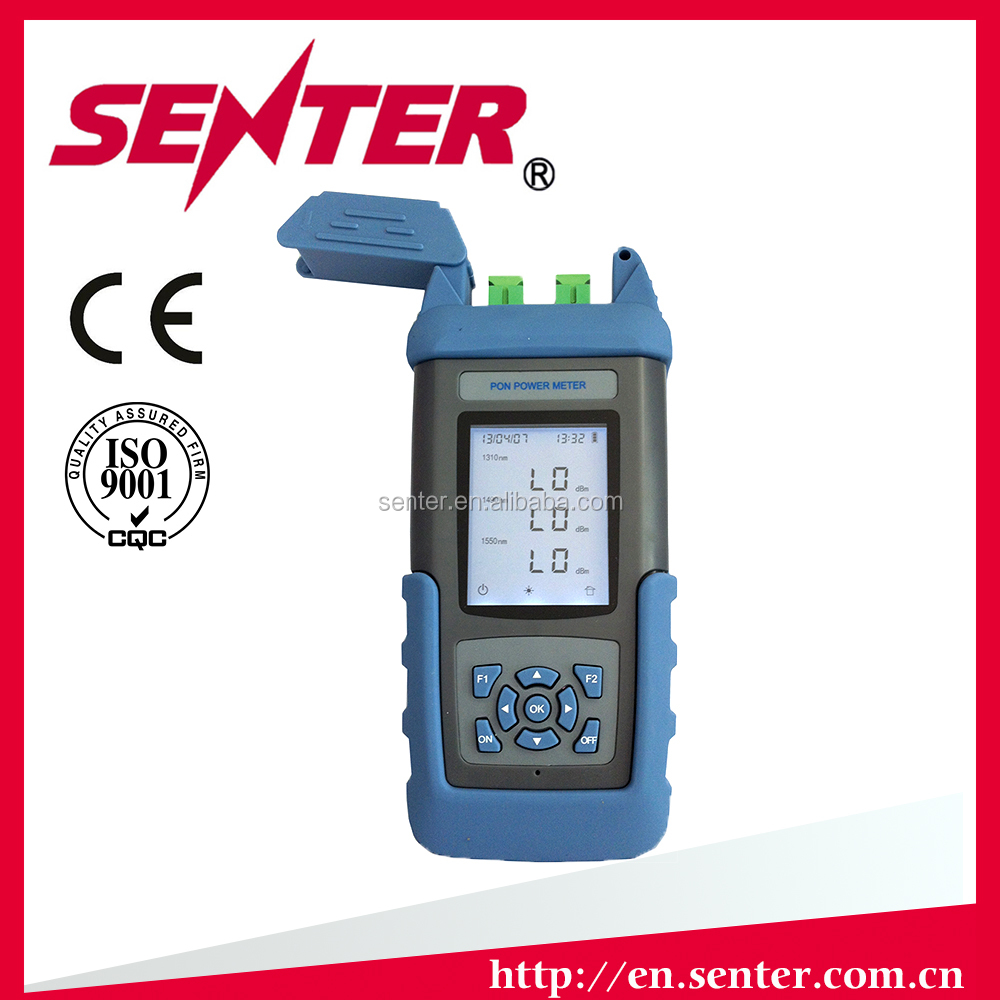 ST805C Intelligent PON power meter from Senter with CE certificate