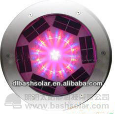 RGB color changing underground solar lighting