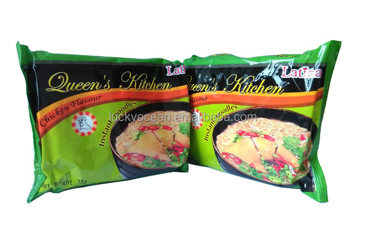 well taste chicken flavor boiling noodle 75g*40/carton