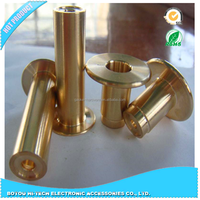 Lathing Part Of Gold Plating Hardware