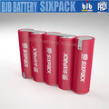 12v 1.5ah battery rechargeable 3S5P li-ion batteries