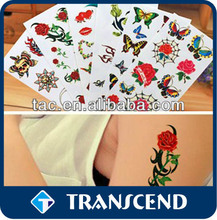 Body Temporary Tattoo Sticker For Kids/jewelry skin design tattoo customized body tattoo