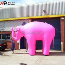 Giant Inflatable Bright Pink Elephant/Giant Inflatable Animal 3D Model