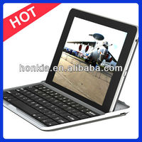 Factory Price Wireless Aluminum Bluetooth Keyboard for Google Nexus 7 with Germany, Italy, Russian Languages