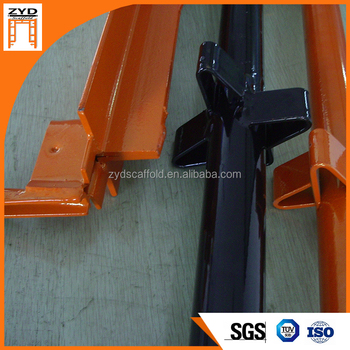 Powder-Coated Scaffolding System Parts