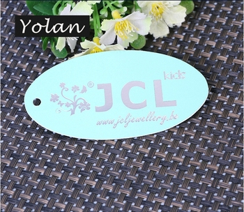 High Quality PVC Jewelry Tag