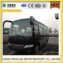china diesel fuel type minibus airport coach bus for sale