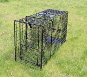 Factory Live Animal cage trap Catch Release Humane Rodent Cage for Rabbits, Stray