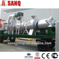 Road Equipment 40t/h DHB40 Mobile Asphalt Mixing Plant Portable Asphalt Hot Batch Plant Bitumen Mixing Plant GOST CE
