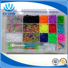 wholesale loop rubber elastic flourescent rubber band with hook
