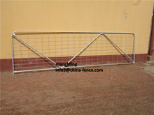 galvanized security fence gate for sale / steel gate