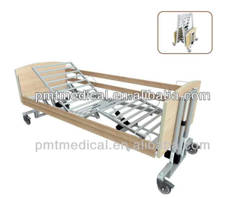 PMT-827c Electric 5 function hospital bed folding