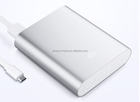 2014 Metal Power Bank 10400mah powerbank portable charger external Battery 10400 mah mobile phone charger Backup powers For ipad