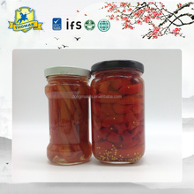 Professional factory Canned pickled salted Red Chili