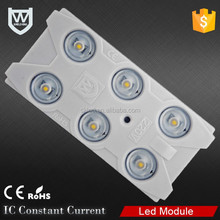 AC led module smd 2835 6chips 3W cool white,pure white,natural white,CE Rohs AC 220v led module for billboard