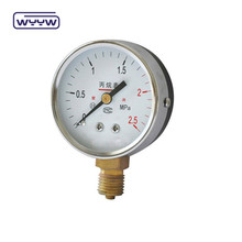 60mm gas lpg pressure gauge