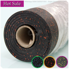 rubber flooring roll used gym mats for sale