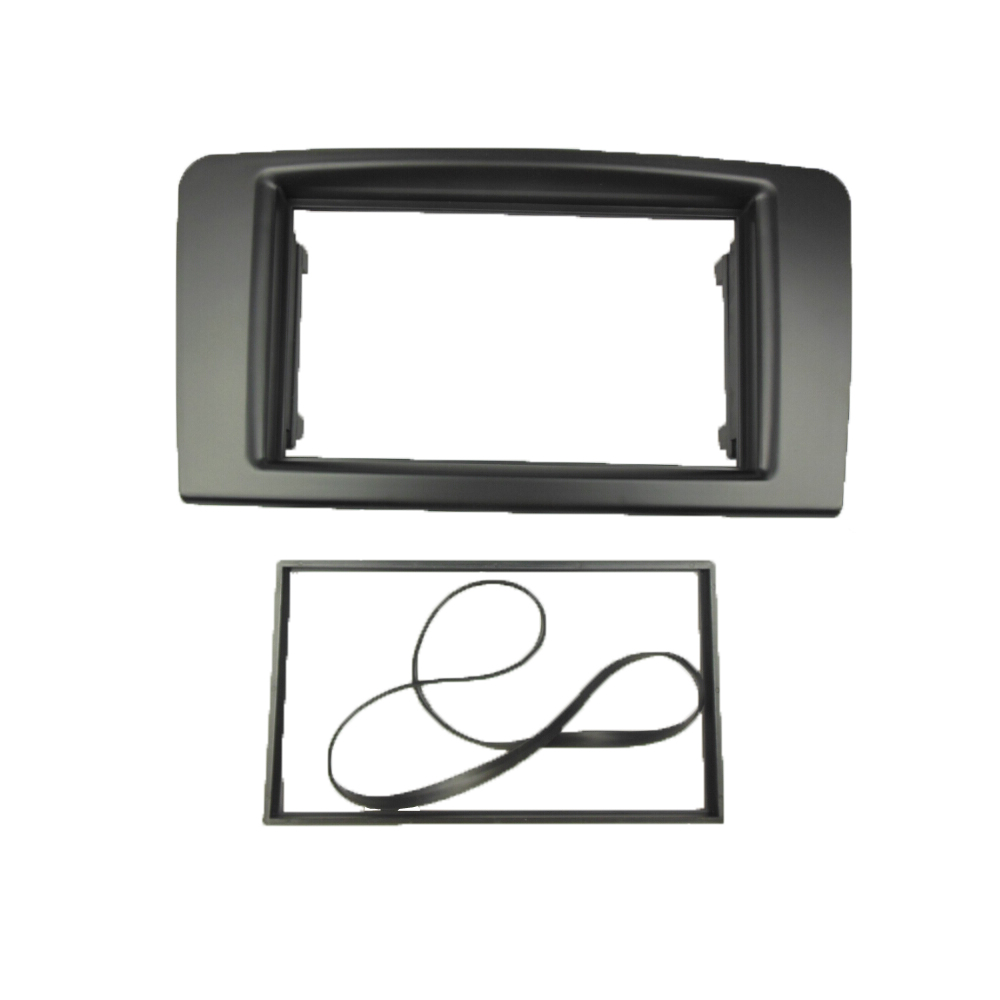 Double Din Stereo Panel <strong>for</strong> <strong>Benz</strong> ML Class <strong>W164</strong> GL Class X164 Fascia Radio Dash Mounting Installation Trim Kit Face Frame