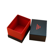 Luxury gift box packaging custom tie boxes black paper bow ties box wholesale