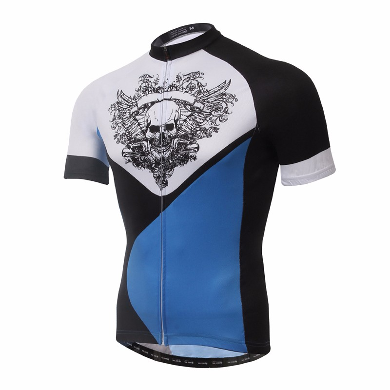 Popular and the newest custom cycling jersey white