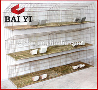 Factory Industrial Rabbit Cages Rabbit Farming Cage Design