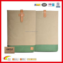 "Eco-Friendly Linen Carry Sleeve Case for Macbook Air 13.3"" and Air 13 New Design"