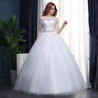 WTY94 Factory direct supply of new wedding dress 2018 wholesale bridal gown