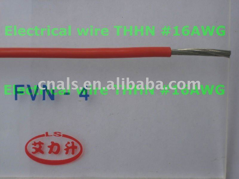 PVC Insulated Nylon-jacket Wire and Cable of Rated Voltage up to and Inculding 450/750V(FVN-4mm2)