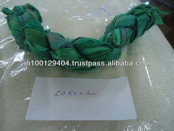 sari silk ribbon - SOLIDS