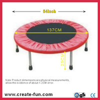 CreateFun 54 inch indoor mini round Spring Bouncing trampoline kids fashionable toy