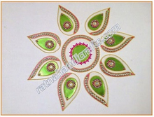 Rangoli Floor Design Diwali Decoration Indian Home Decor
