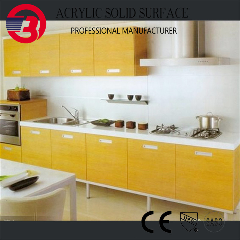 Wholesale Cutting Countertop Laminate Engineered Artificial Quartz Stone Kitchen Countertop