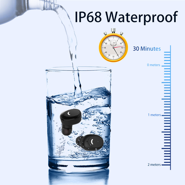 TOZO t10 noise canceling true tws earphone blue tooth v5.0 ipx8 waterproof wireless earbuds