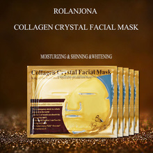 OEM Rolanjona Whitening Peel Off Mask Anti-aging Facial Mask Gold Collagen Crystal Collagen Facial Mask